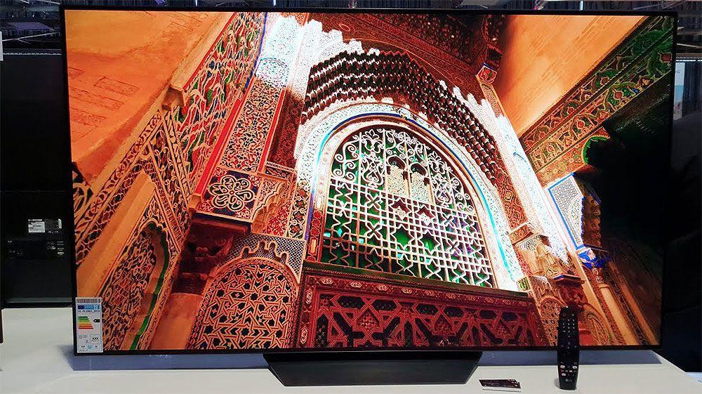 Привабливий LG B9 OLED  телевізор