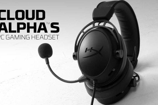 HyperX випускає Cloud Alpha S Blackout