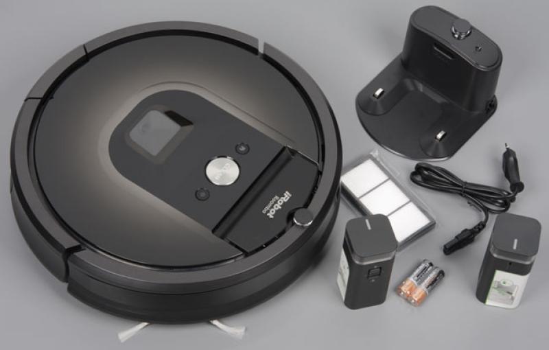 Комплектація iRobot Roomba 980
