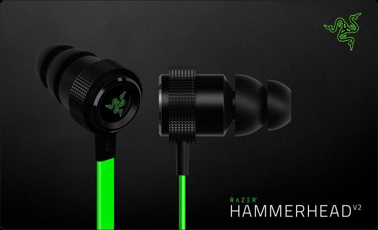 Razer Hammerhead – бездротові навушники для геймерів