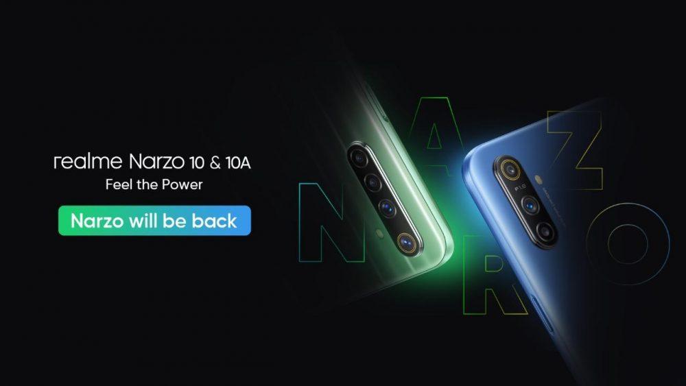 Narzo 10 з чіпсетом Helio G80