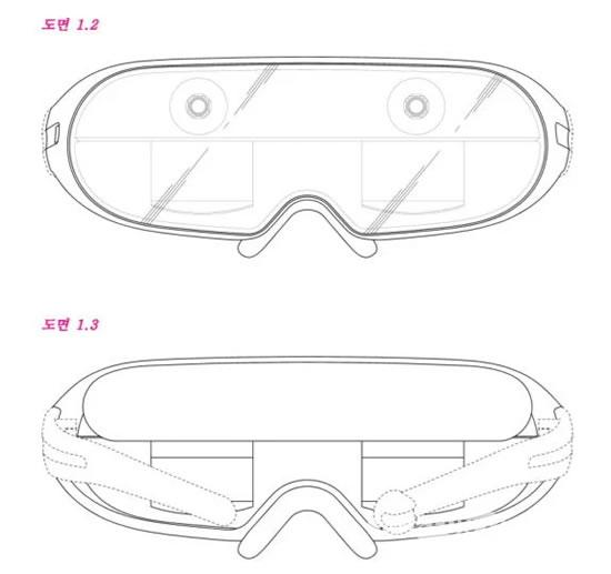 Samsung подала патент для окуляр AR