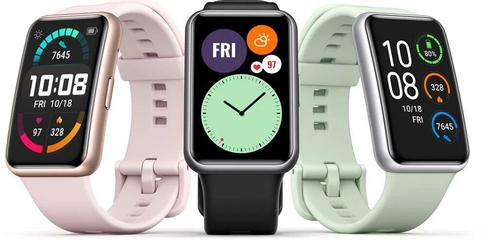 Компанія Huawei випускає смарт-годинник Watch Fit