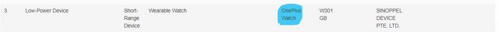 OnePlus Watch отримує сертифікат IMDA