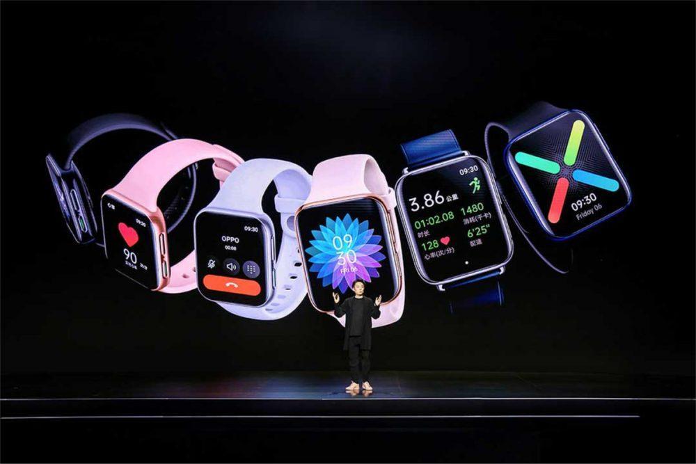 Компанія Oppo презентувала свій перший смарт-годинник
