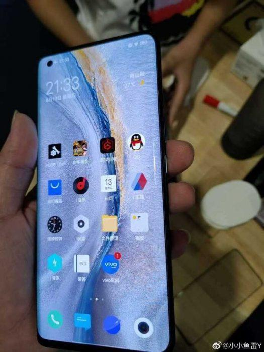 З'явились живі зображення iQOO 5 Pro