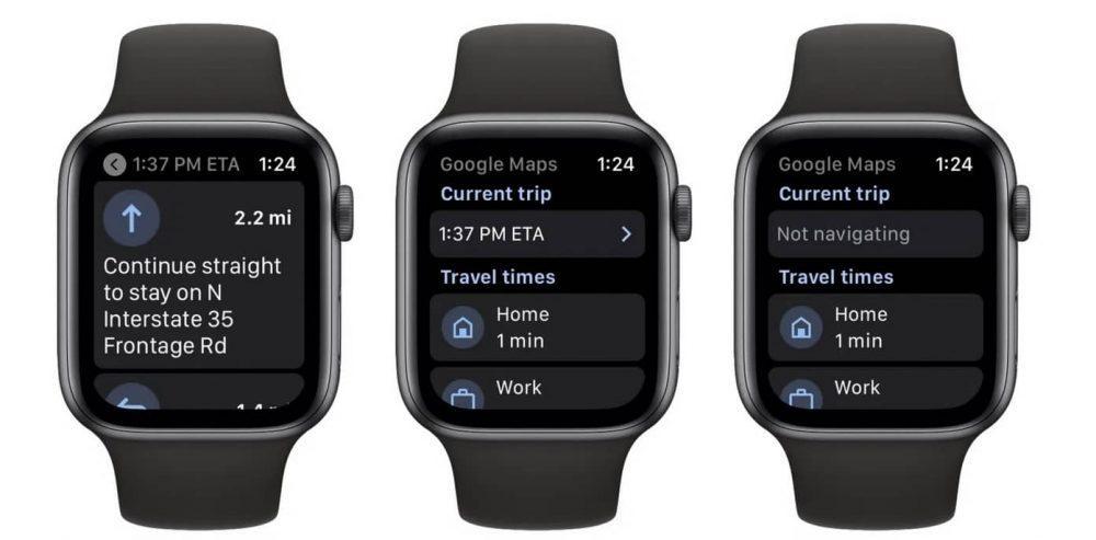 Користувачам Apple Watch повернули додаток Google Maps