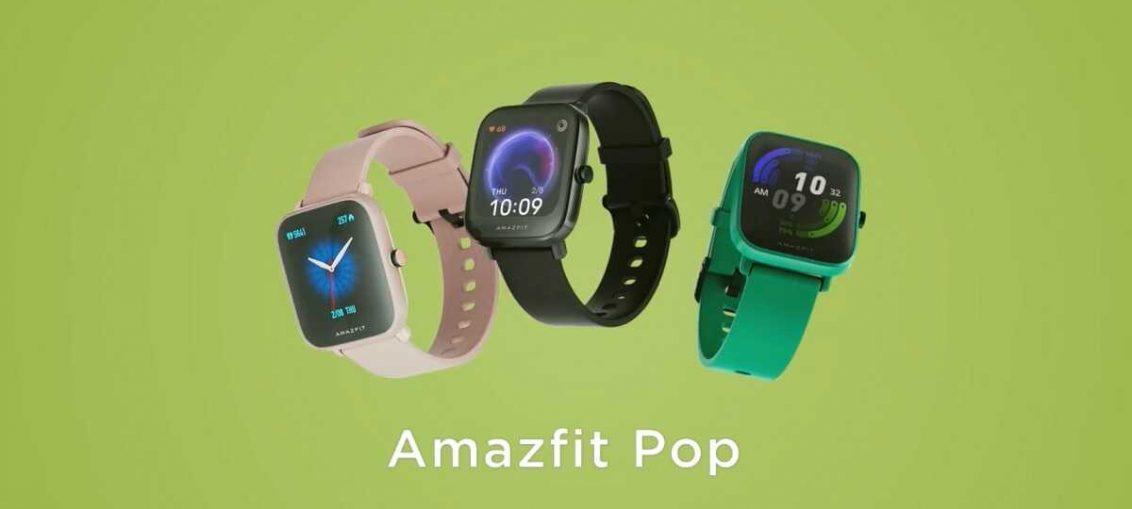Очікується запуск годинника Huami Amazfit Pop