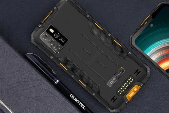 Oukitel розкрили специфікації камери міцного 5G смартфона WP10