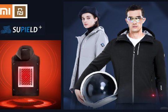 Xiaomi представили розумну зимову куртку