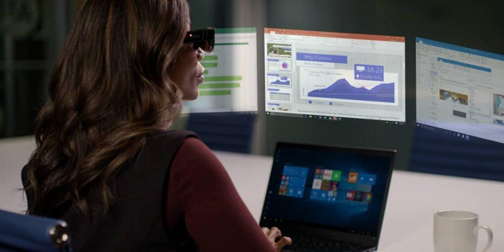 Компанія Lenovo показала розумні окуляри з двома дисплеями і прихованою камерою