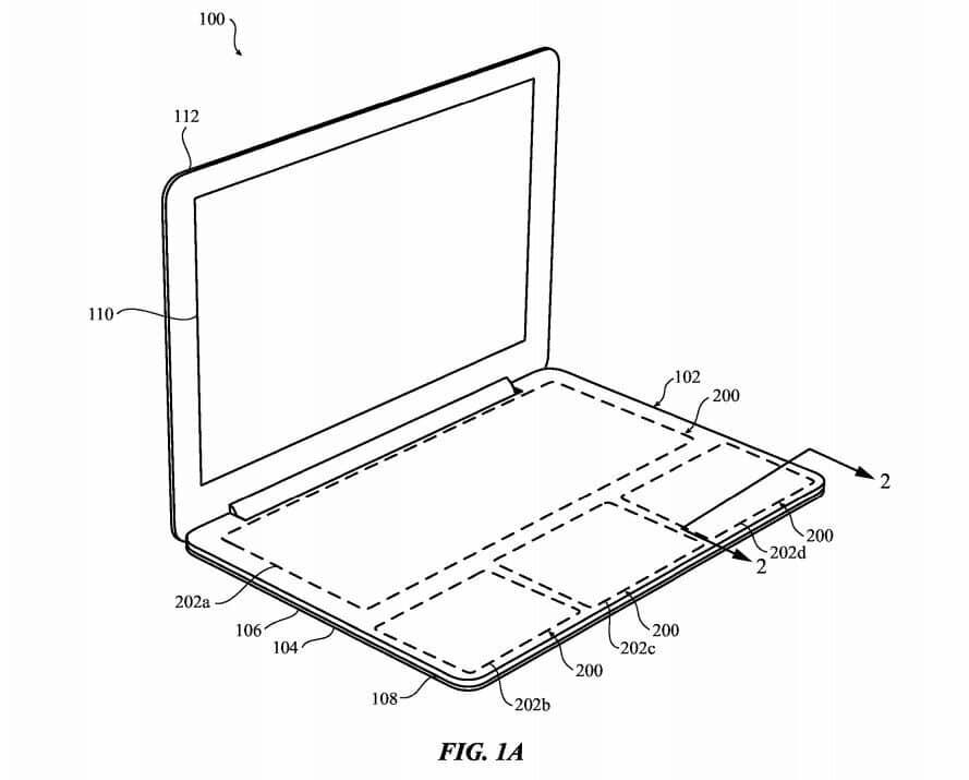 Apple запатентувала клавіатуру із захистом від проливання рідин