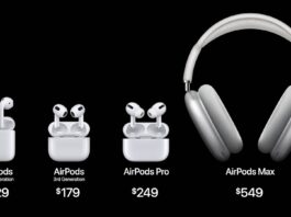 Названо основну відмінність AirPods 3 від AirPods 2-го покоління та PRO